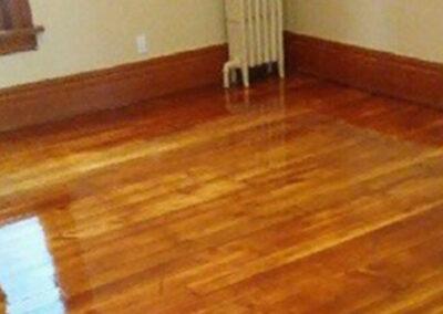 After Wood Floor Refinishing in Buffalo NY - Floor it