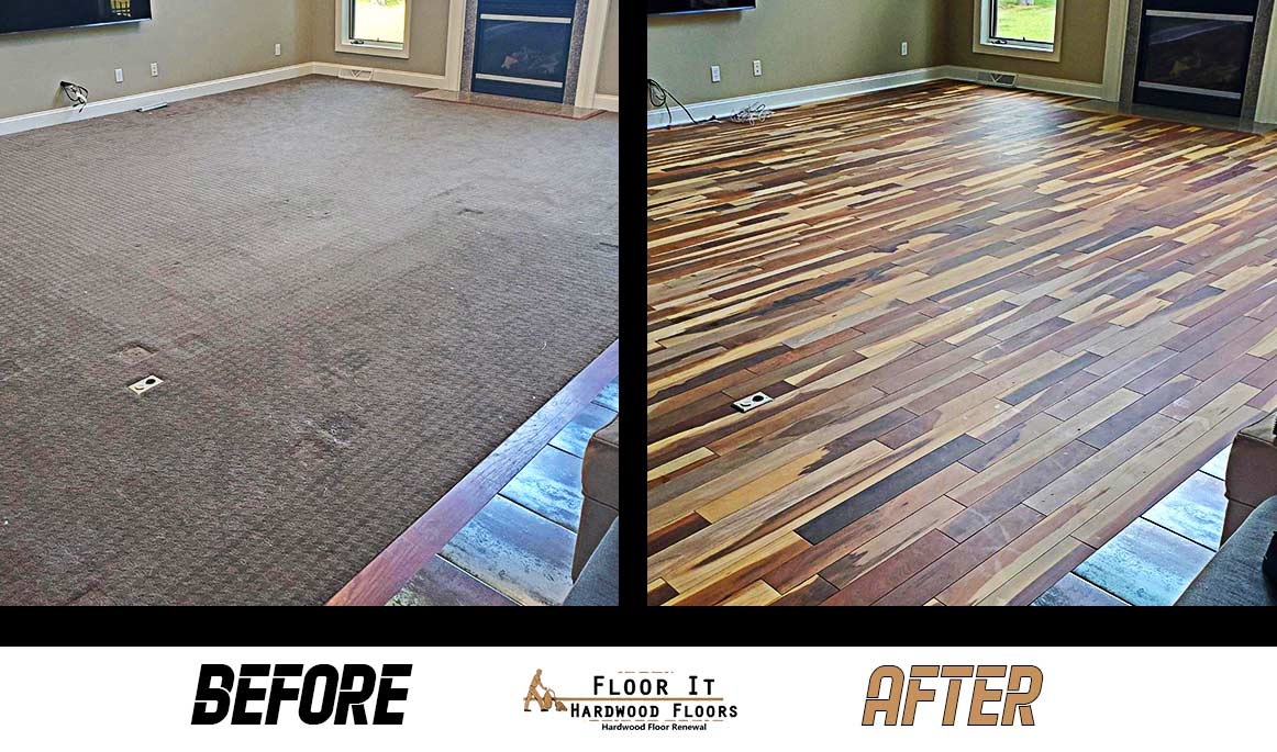 Wood Restoration by Floor It Hardwood Floors in Buffalo NY
