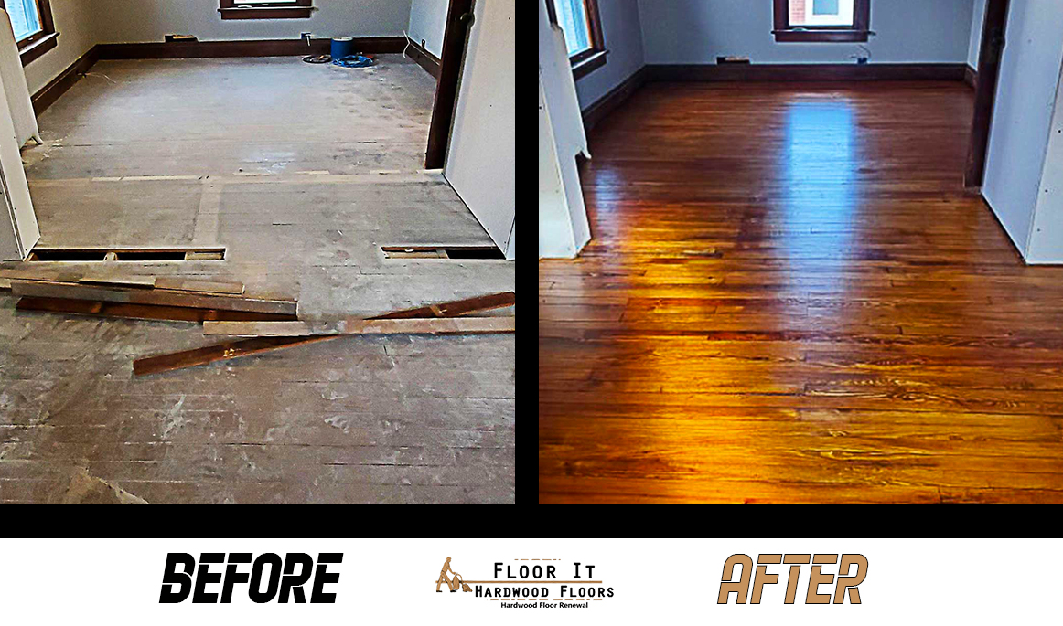 Wood Floor Restoration in Buffalo NY, Floor It Hardwood Floors